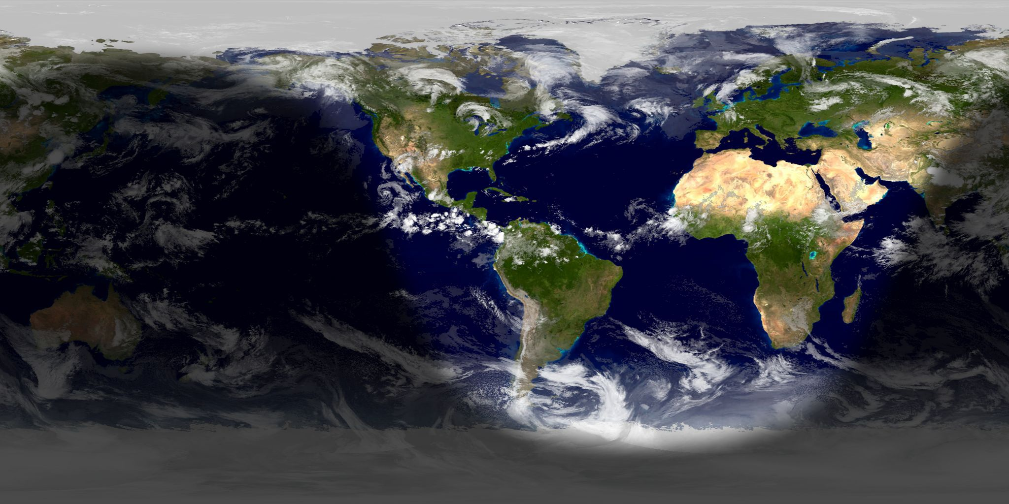Daylight View of the Earth